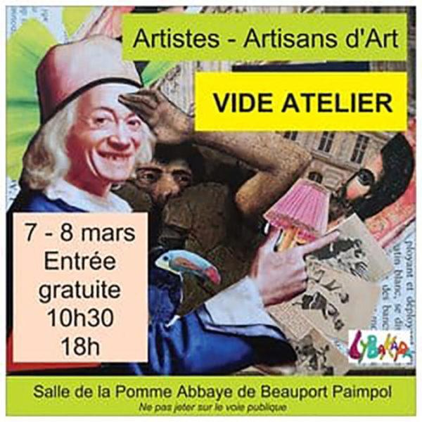 Vide Atelier | 7 & 8 mars 2020