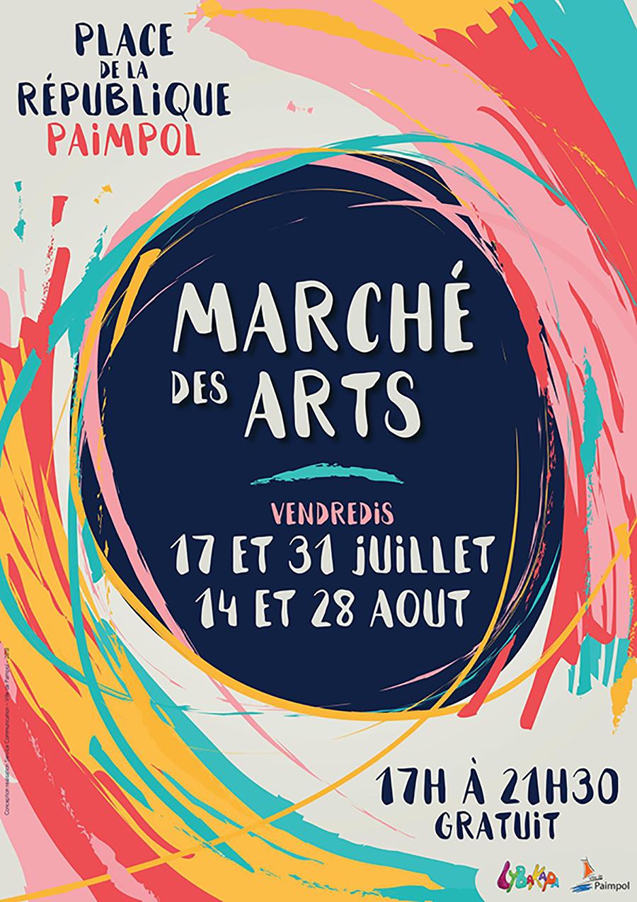 Marché des Arts | 17 & 31 juillet, 14 & 28 août 2020