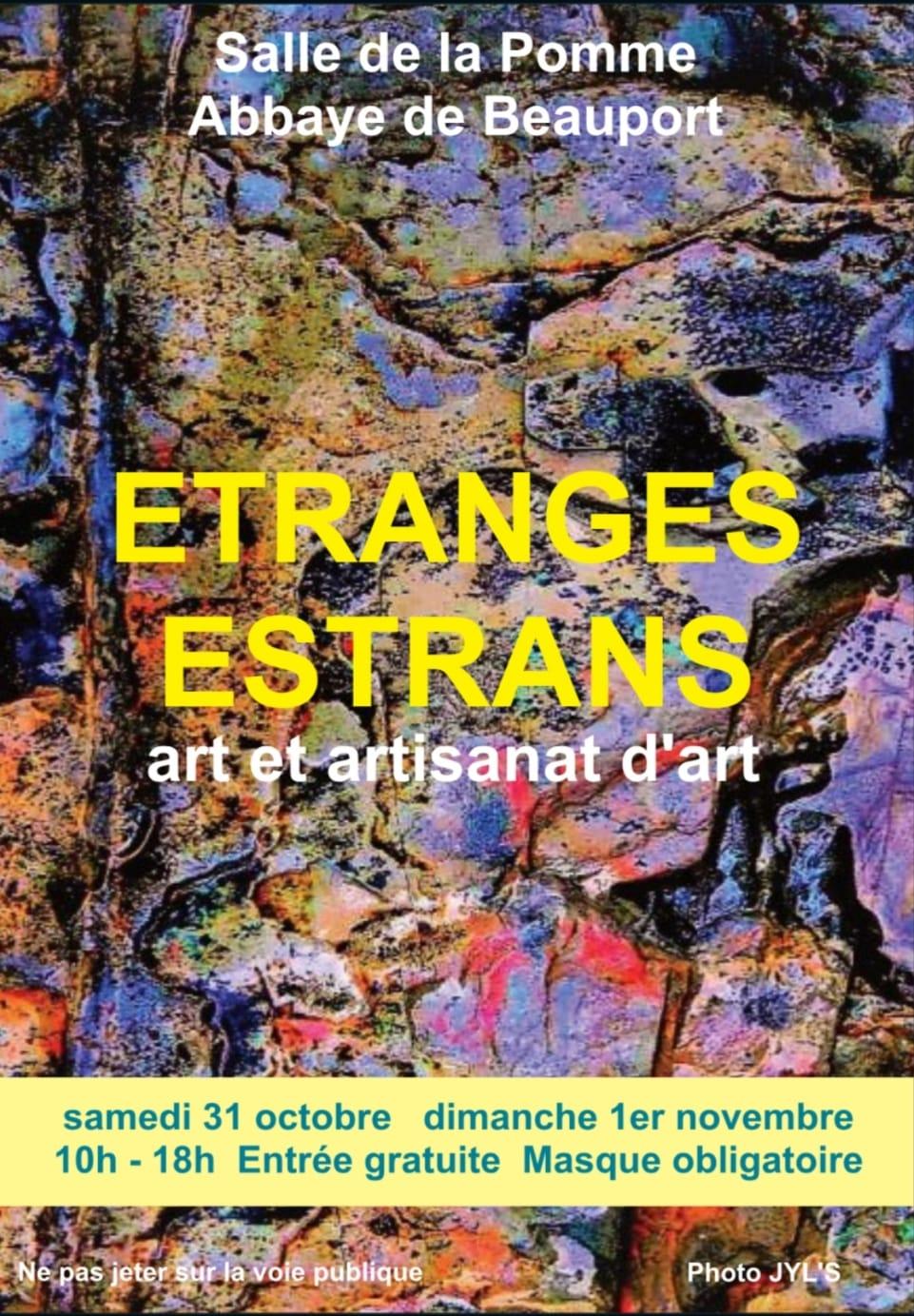 Étranges Estrans | 31 oct. & 1 nov. 2020